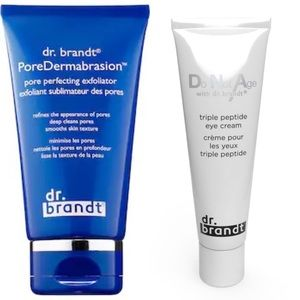 NEW bundle of Dr. Brandt eye cream & exfoliator